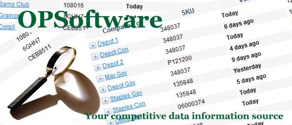 OPSoftware...Your competitive data information source